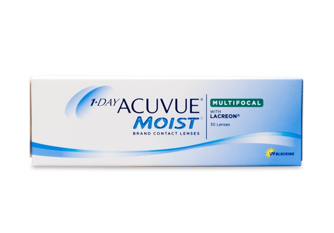 Контактные линзы acuvue 1 day moist multifocal, 30